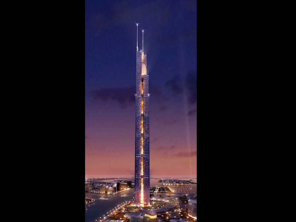 Le Burj Dubai nouveau la nuit.
