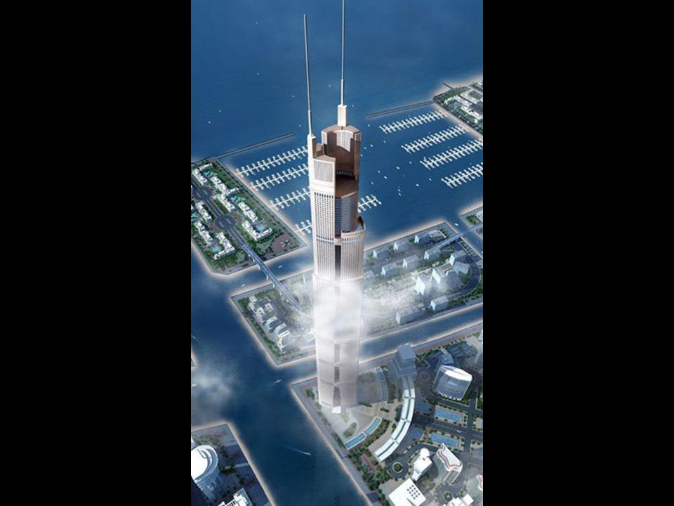 Une hauteur de 1 200 m est prévue.