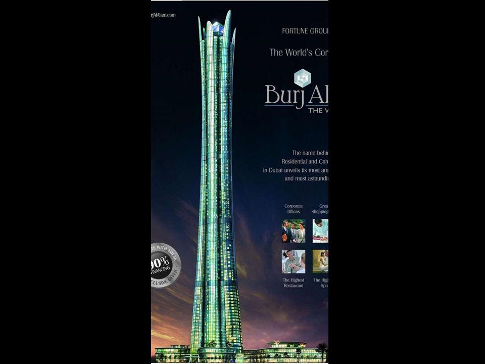 Le Burj al Alam (The World Tower) Avec 480 m, sera lhôtel le plus haut dans un proche futur.