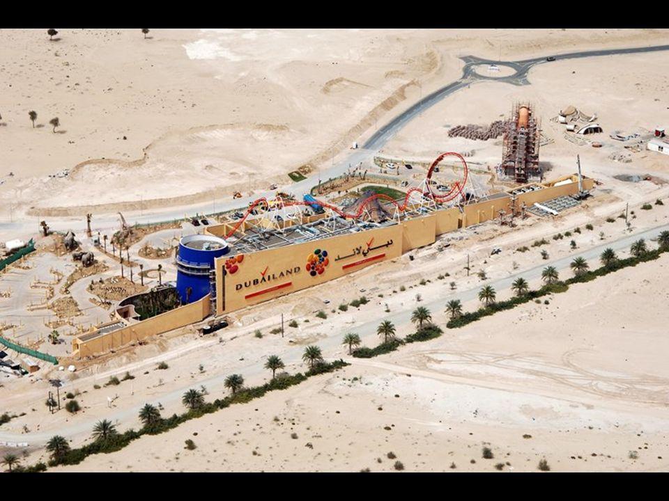 Dubailand Le futur Walt Disney World Resort.