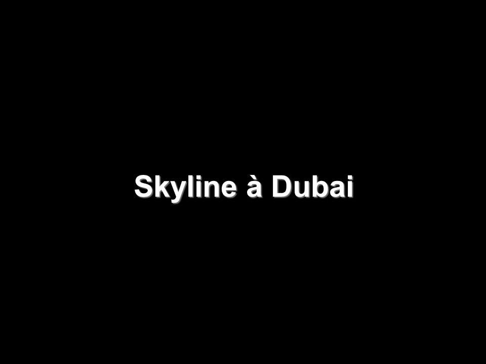 Hôtel Burj al-Arab à Dubai Le plus haut hôtel du monde.