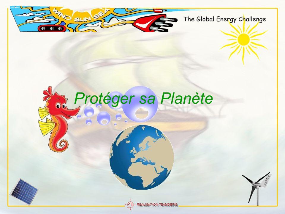 REALISATION TEAMDEFIS Protéger sa Planète