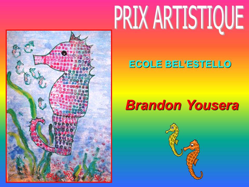 ECOLE BELESTELLO Brandon Yousera