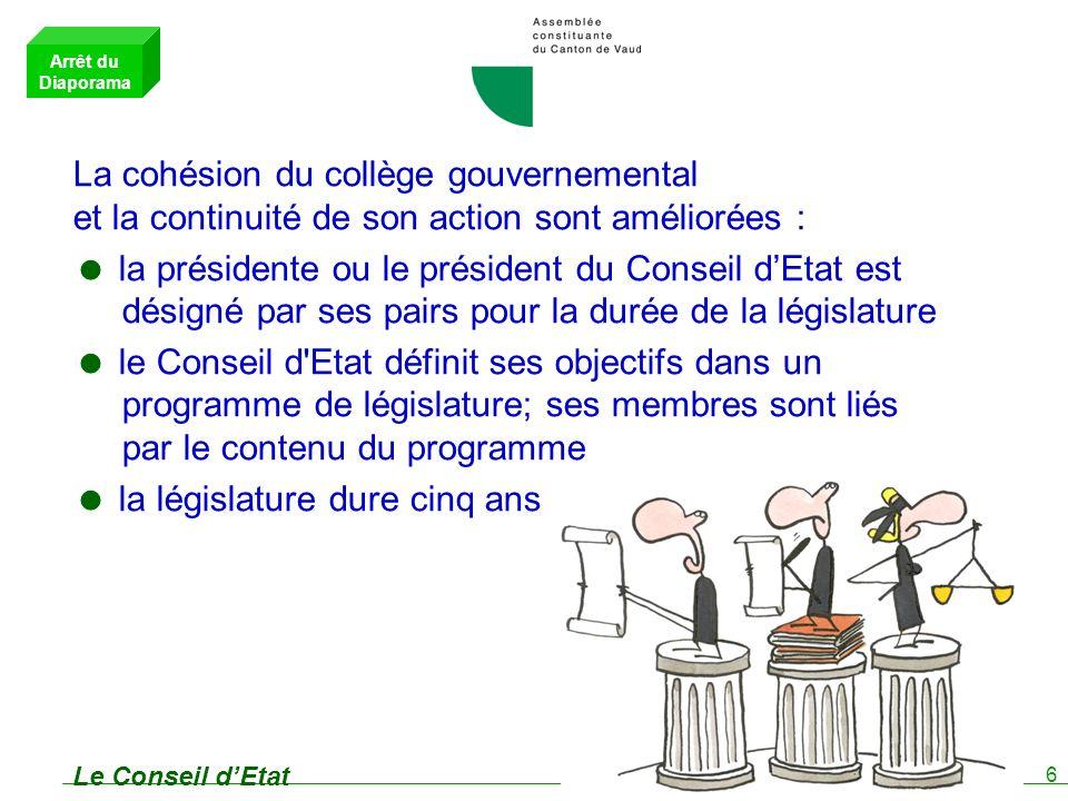 7 Les Tribunaux Un seul Tribunal : le Tribunal cantonal Le Tribunal administratif devient une Cour du Tribunal cantonal.