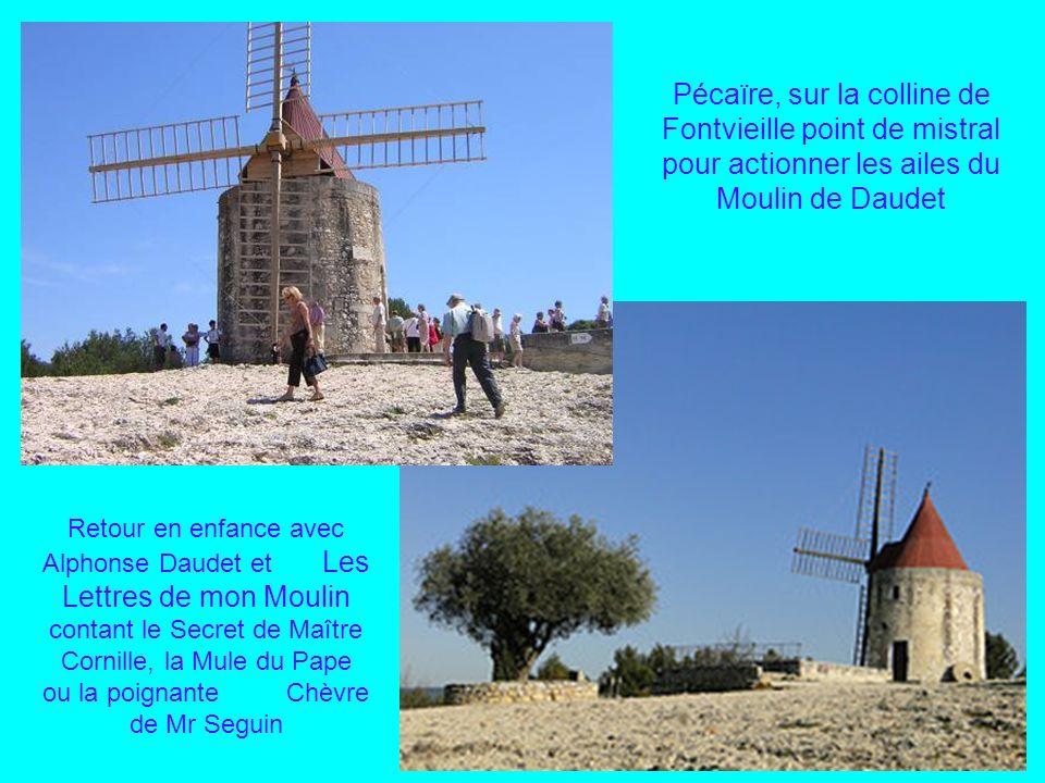 Les Baux de Provence et son château bâti sur léperon rocheux surplombant la campagne des Alpilles Cest au son du fifre et du « tambourinaïre » que nou