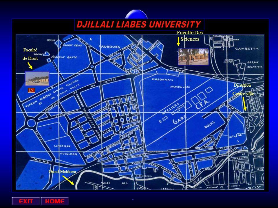 Faculté Des Sciences Faculté ds Droit Direction Centre ville Oued Makkera