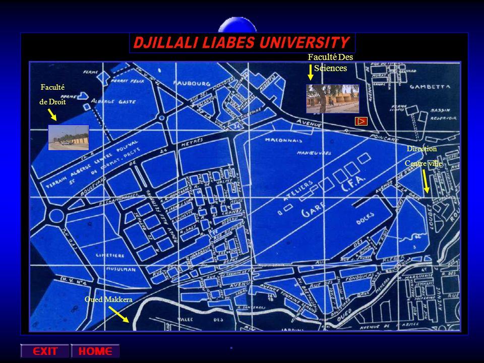 Faculté Des Sciences Faculté de Droit Direction Centre ville Oued Makkera