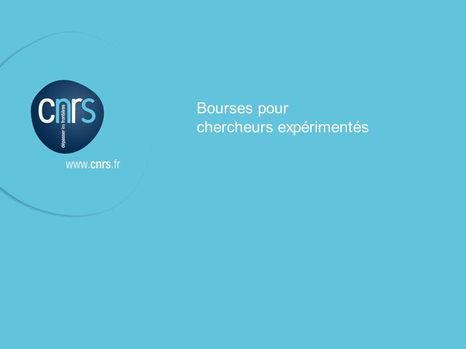 P. 12 Victoire Teisserenc, DERCI Bureau de Bruxelles P. 12 Emetteur l Fonction Bourses pour chercheurs expérimentés