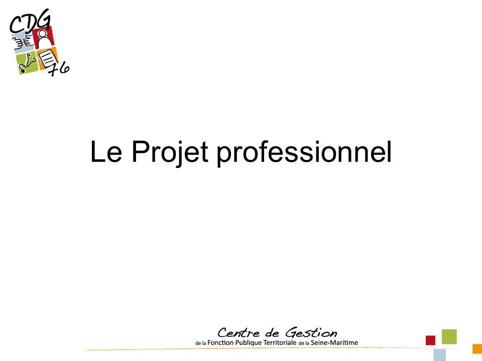 Le Projet professionnel