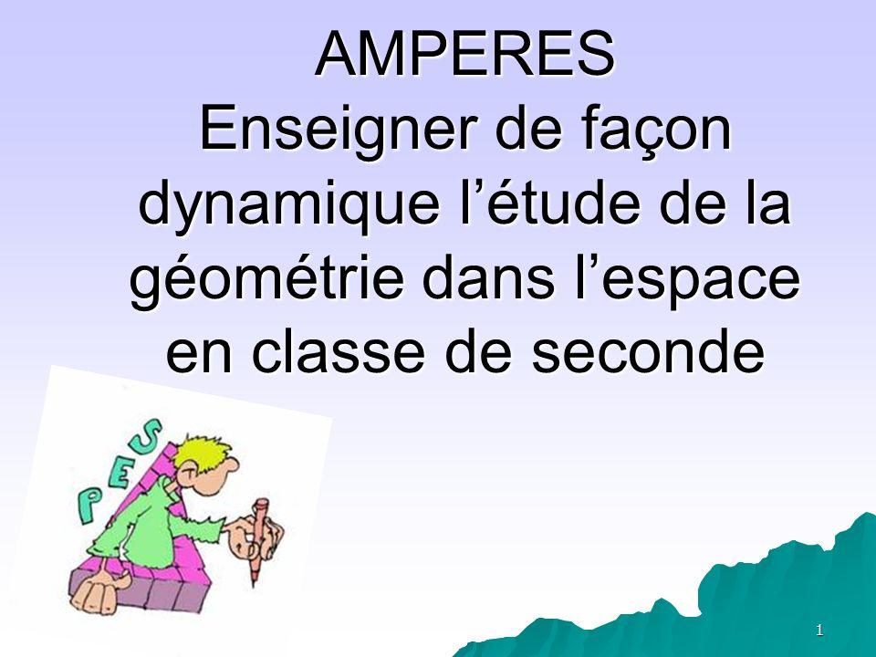 2 RECIT dEXPERIENCES Année 2005-2006- Année 2006-2007 IREM de Clermont-Ferrand - Lycée Montdory de Thiers