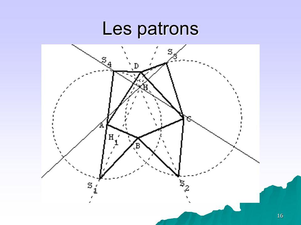 17 Deuxième AER: Construire une pyramide de base carrée et de volume maximal Objectif: que chaque élève dispose de la maquette dune pyramide régulière pour tenter de visualiser une coupe par un plan dans la troisième AER.