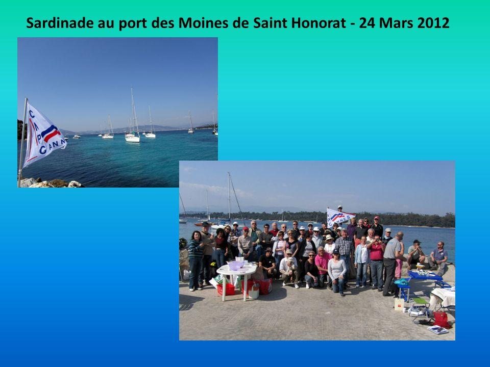 Sardinade au port des Moines de Saint Honorat - 24 Mars 2012