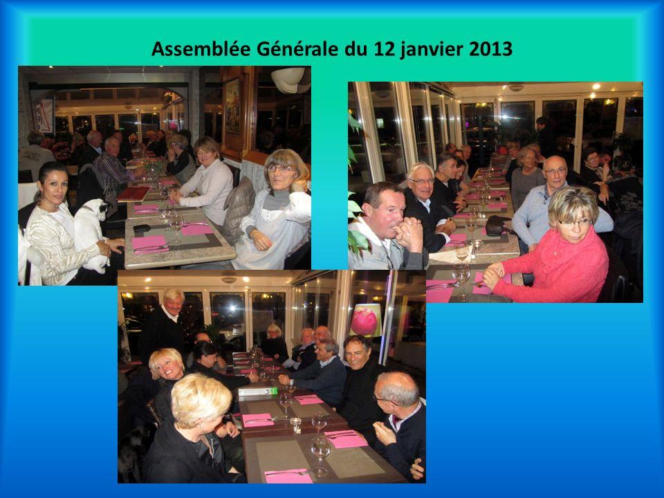 Assemblée Générale du 12 janvier 2013