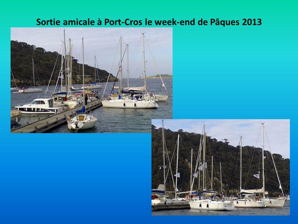 Sortie amicale à Port-Cros le week-end de Pâques 2013
