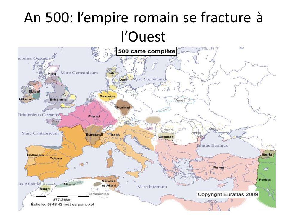 An 700: expansion islamique, la Méditerranée nest plus une « mer interne ».