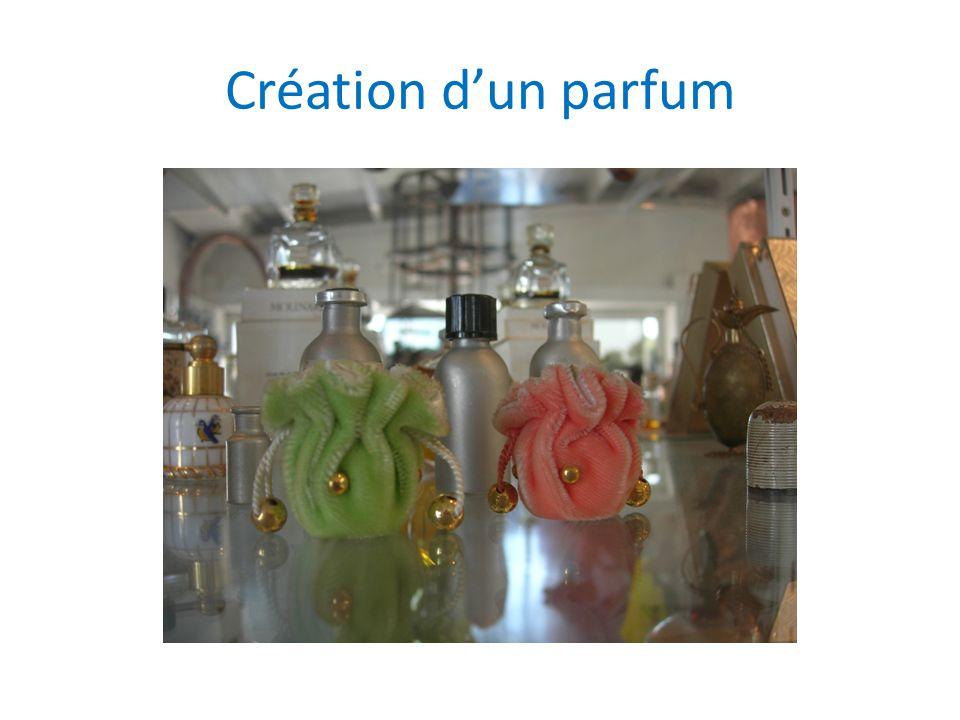Création dun parfum