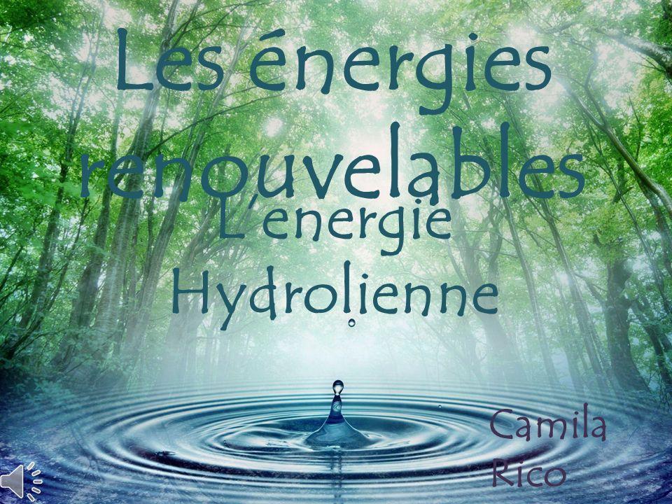 Lenergie Hydrolienne Les énergies renouvelables Camila Rico Sara Djaouadi