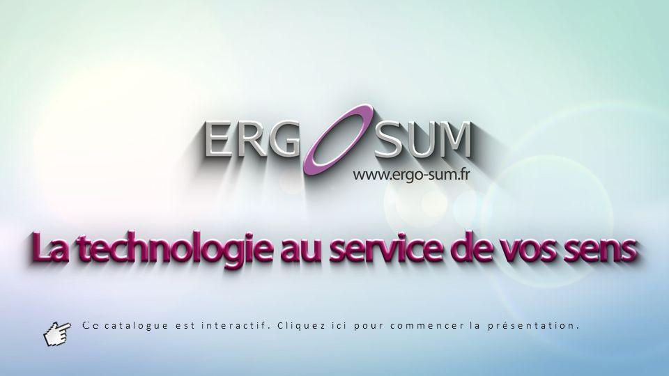 Ergotouch Dev Les solutions ERGOTOUCH regroupent les différentes catégories de systèmes Multitouch fournis par Ergo Sum.