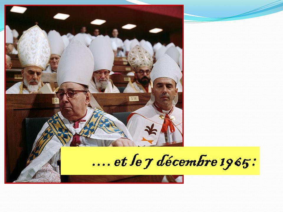 .... et le 7 décembre 1965 :