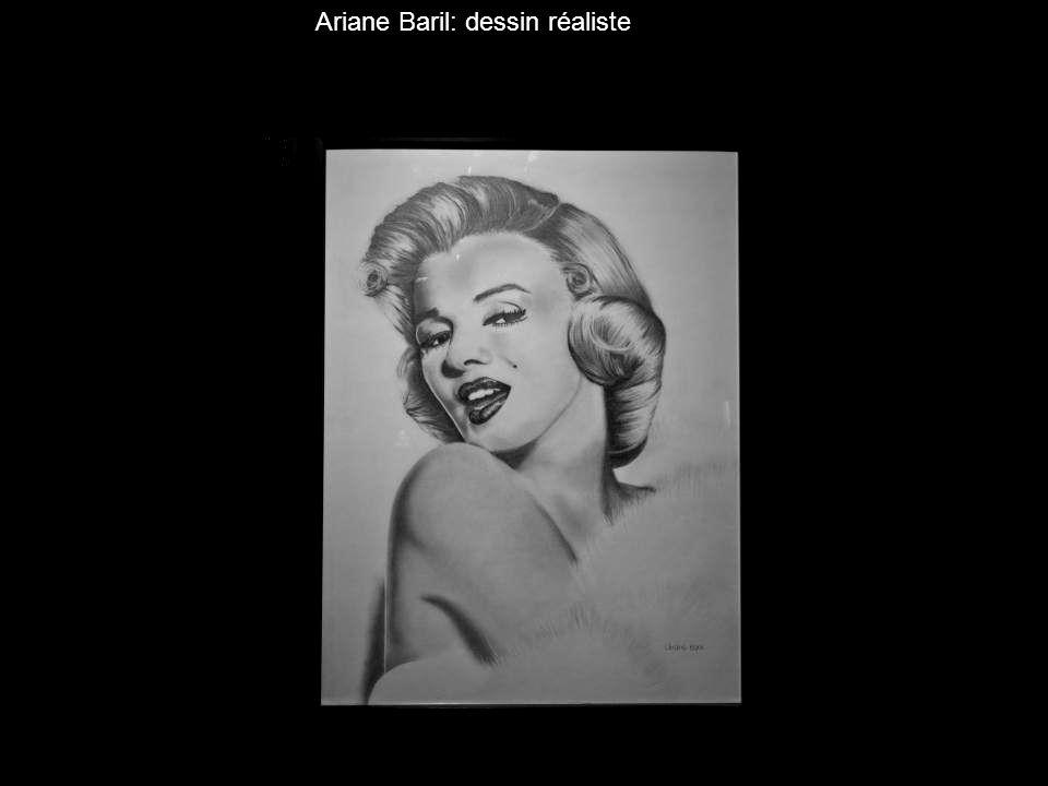 Ariane Baril: dessin réaliste