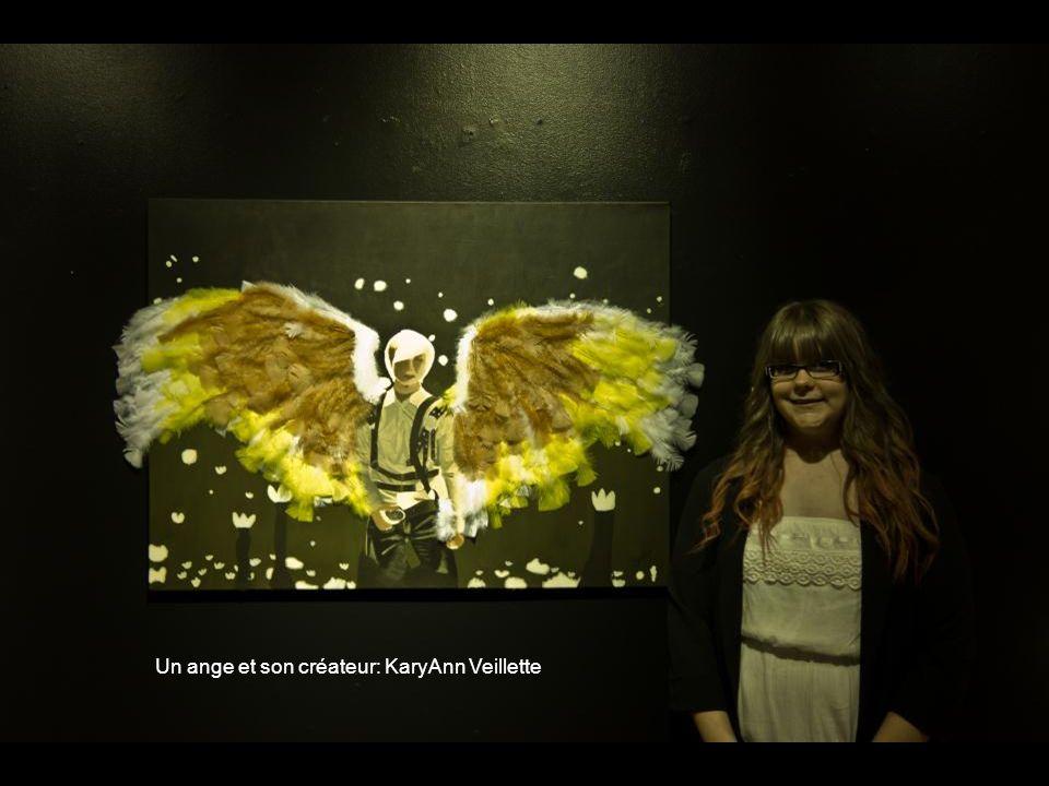 Un ange et son créateur: KaryAnn Veillette