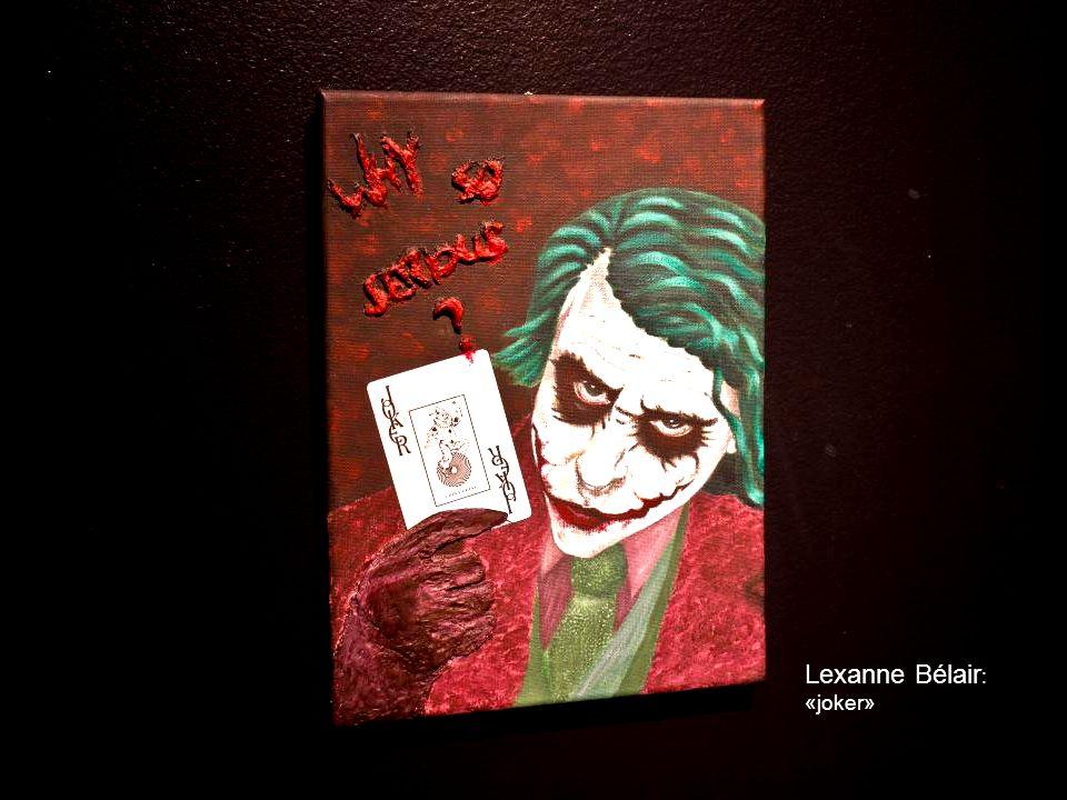 Lexanne Bélair : «joker»