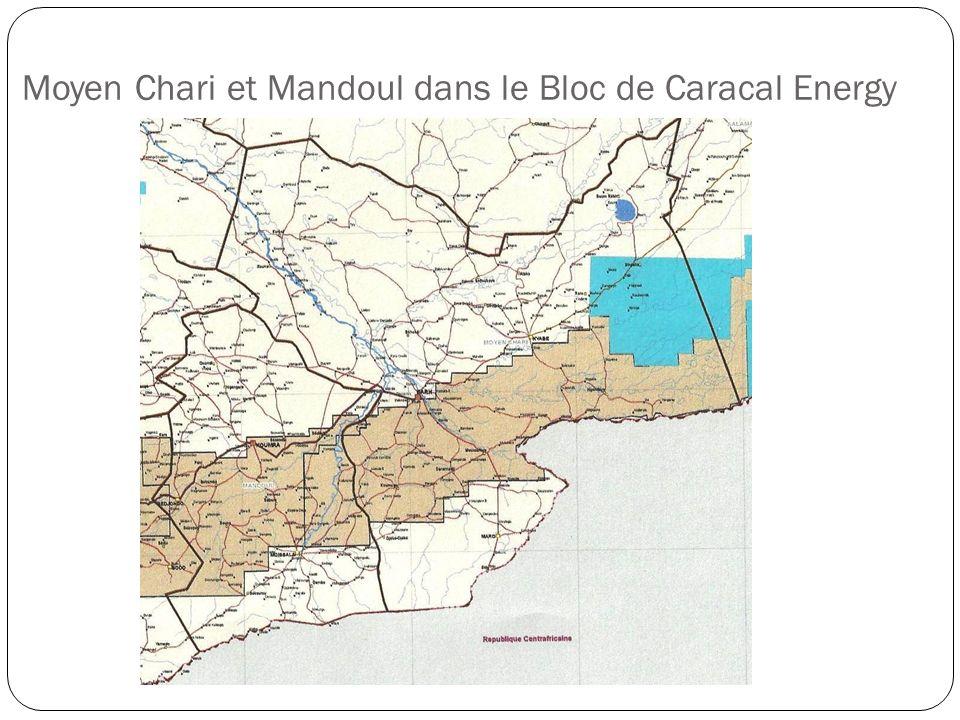 Moyen Chari et Mandoul dans le Bloc de Caracal Energy