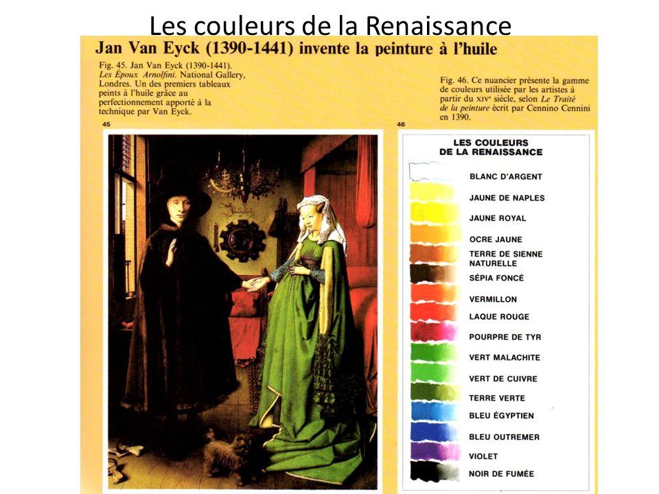 Les couleurs de la Renaissance