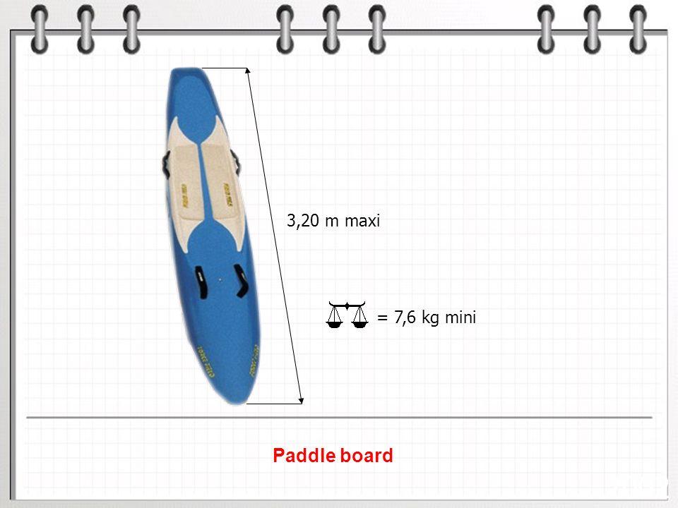 35/30 SURF SKI (Surf Ski Race) 75 mètres 16 mètres mini 300 mètres ARRIVÉE 35 mètres Profondeur deau aux genoux