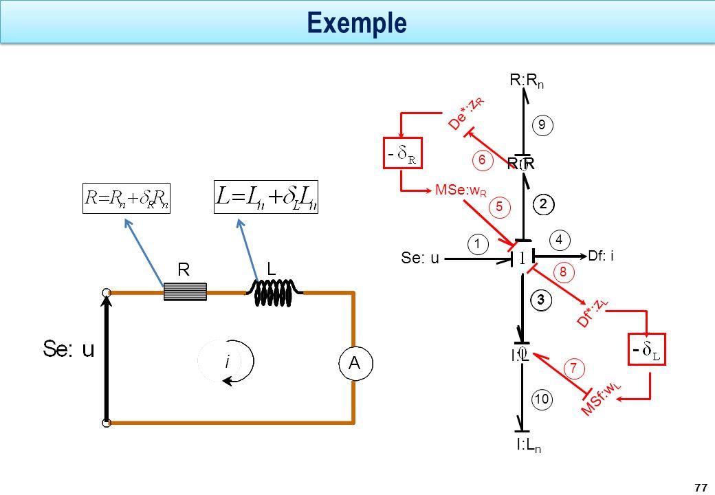 Exemple 77 Se: u 1 4 R:R n De*:z R MSe:w R 2 5 9 6 Df: i I:L n 3 10 MSf:w L 7 Df*:z L 8 R:R 2222 I:L 3