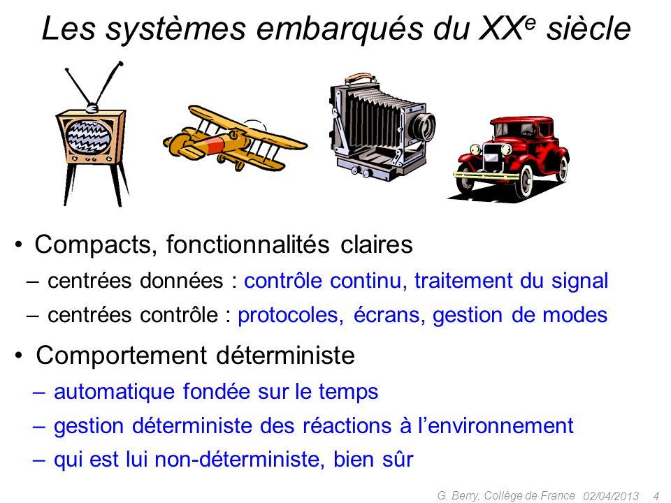 02/04/2013 64 G.Berry, Collège de France Temps logique vs.