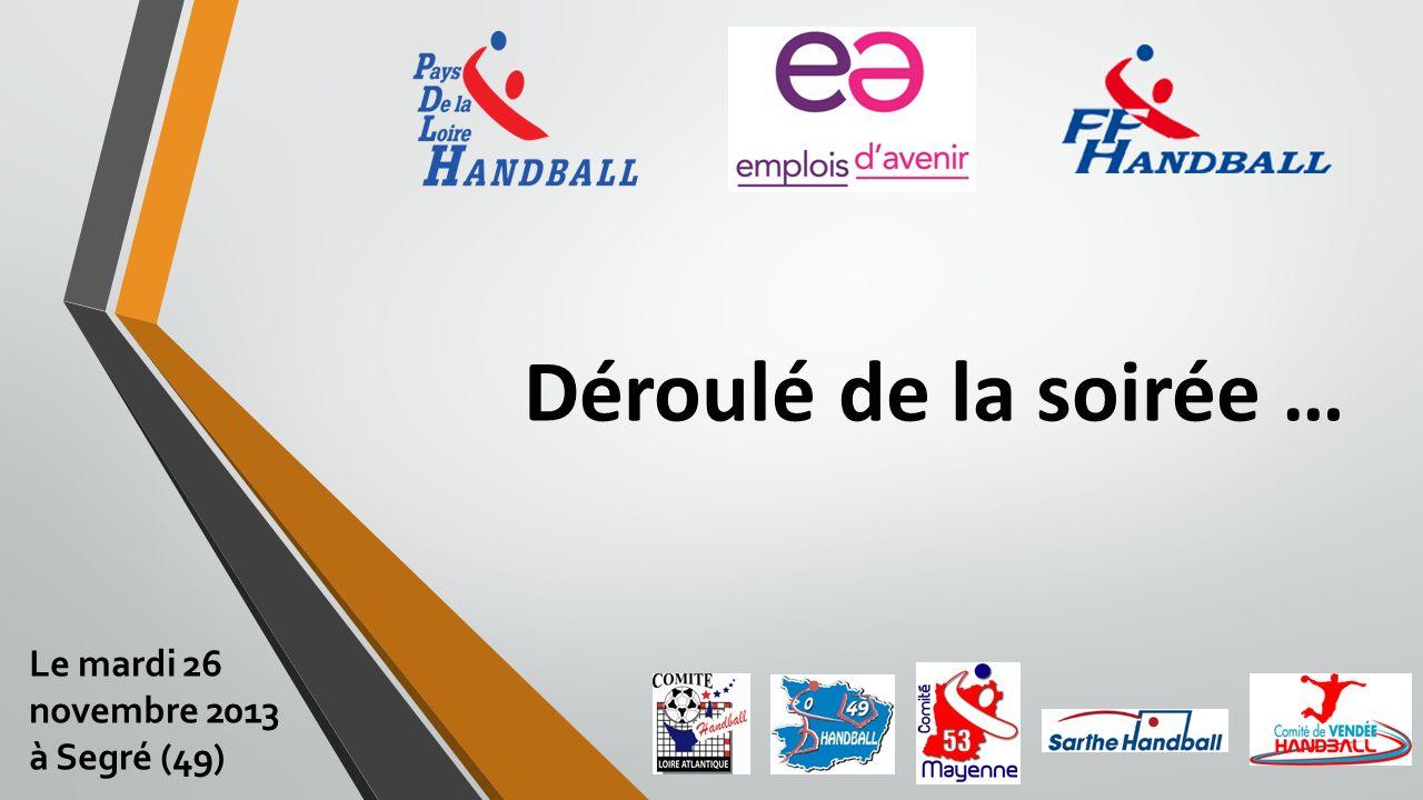 Déroulé de la soirée … Le mardi 26 novembre 2013 à Segré (49)