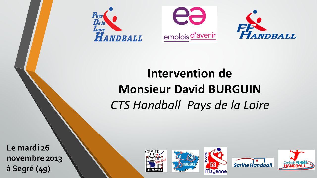 Pour toutes informations complémentaires contacter votre référent départemental ou régional… Le mardi 26 novembre 2013 à Segré (49)
