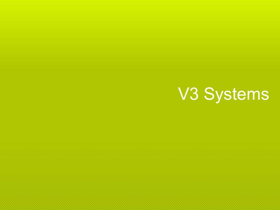 Vue densemble Mission V3 Systems représente lavant-garde du bureau virtuel dans le cloud (Desktop Cloud Computing) ; V3 Systems garantie la performance, la disponibilité et lutilisation en maximisant lexpérience de lutilisateur et le ROI.