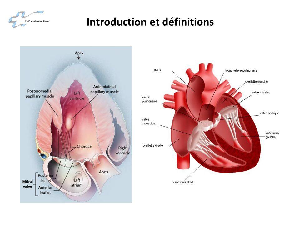 Physiopathologie de la valve mitrale La valve mitrale est constituée de deux feuillets : – un feuillet antérieur (grande valve mitrale) – un feuillet postérieur (petite valve mitrale)