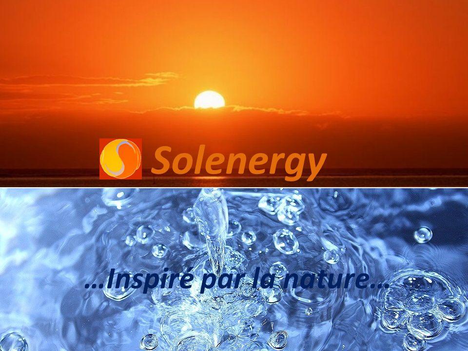 Solenergy …Inspiré par la nature…