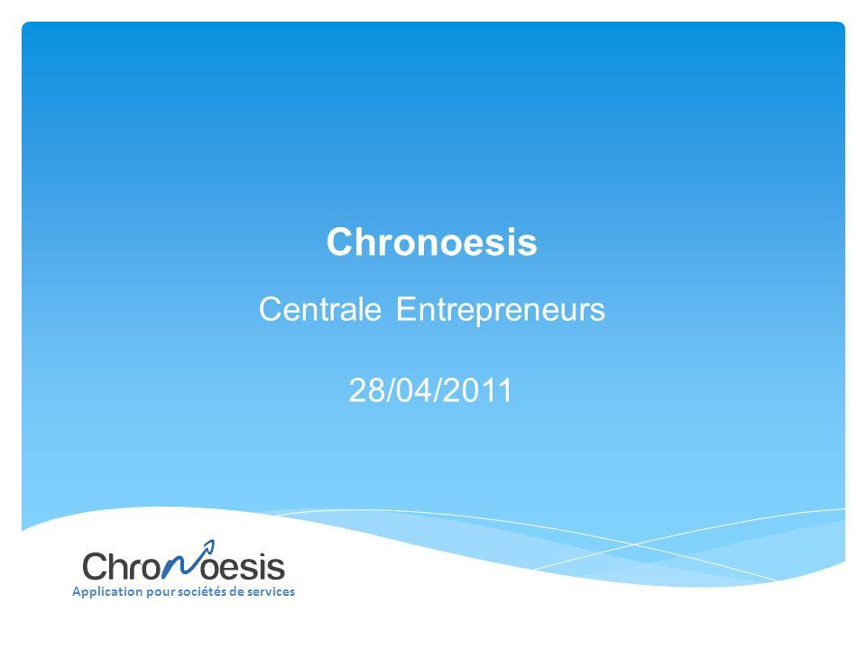 Application pour sociétés de services Chronoesis : Marketing Mix
