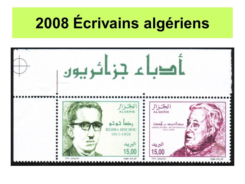 2008 Écrivains algériens