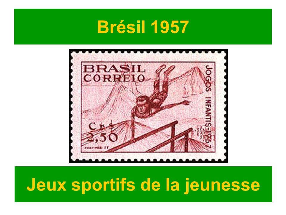 Brésil 1957 Jeux sportifs de la jeunesse