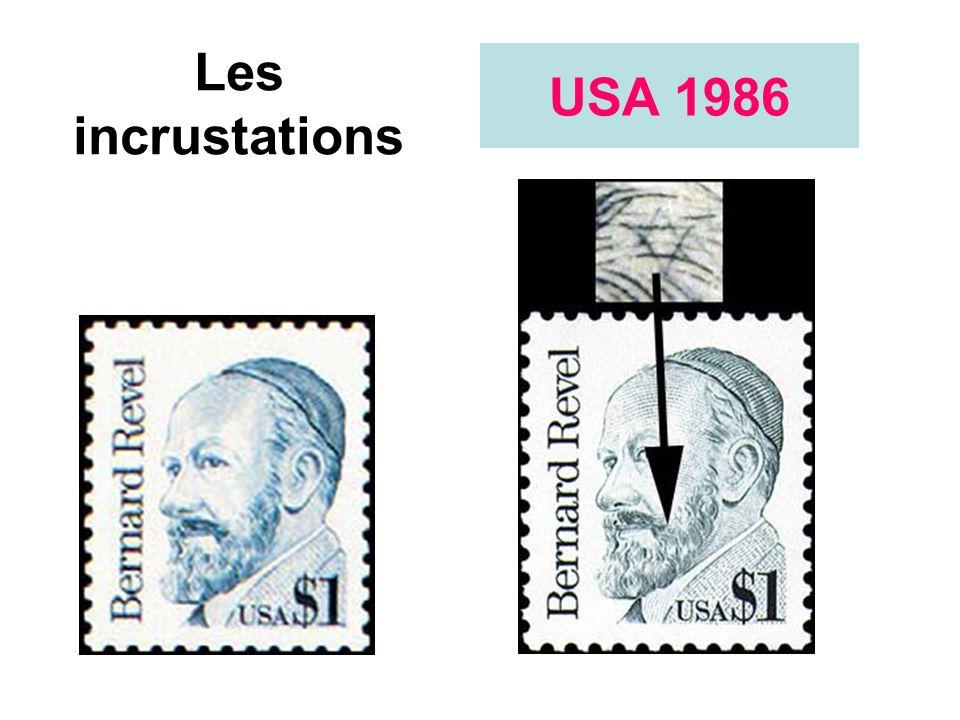 Les incrustations USA 1986