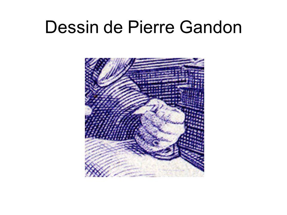 Dessin de Pierre Gandon