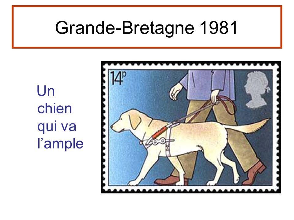 Grande-Bretagne 1981 Un chien qui va lample