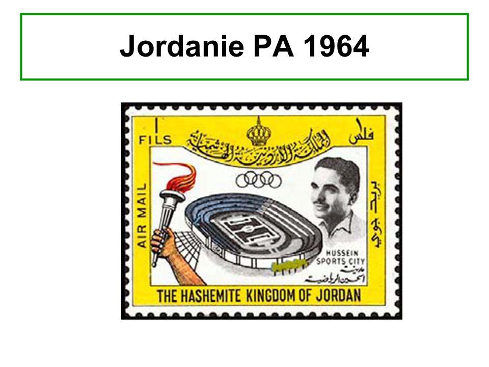 Jordanie PA 1964
