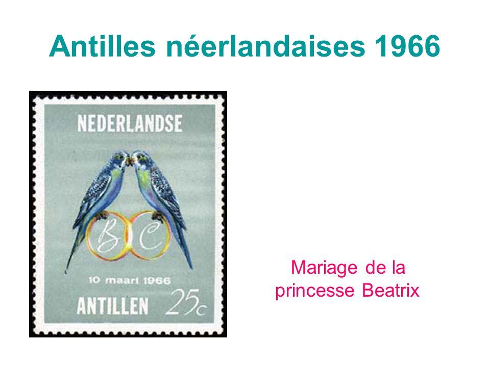 Antilles néerlandaises 1966 Mariage de la princesse Beatrix