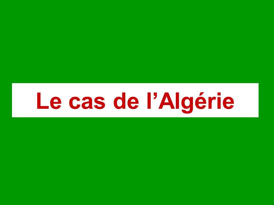 Le cas de lAlgérie