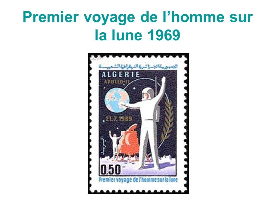 Premier voyage de lhomme sur la lune 1969