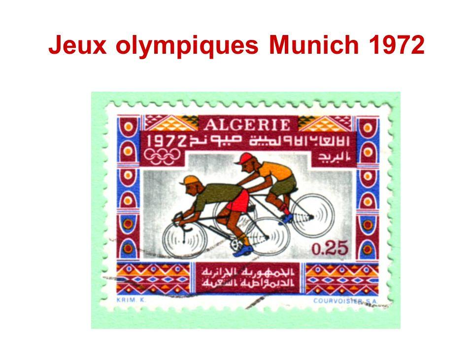 Jeux olympiques Munich 1972