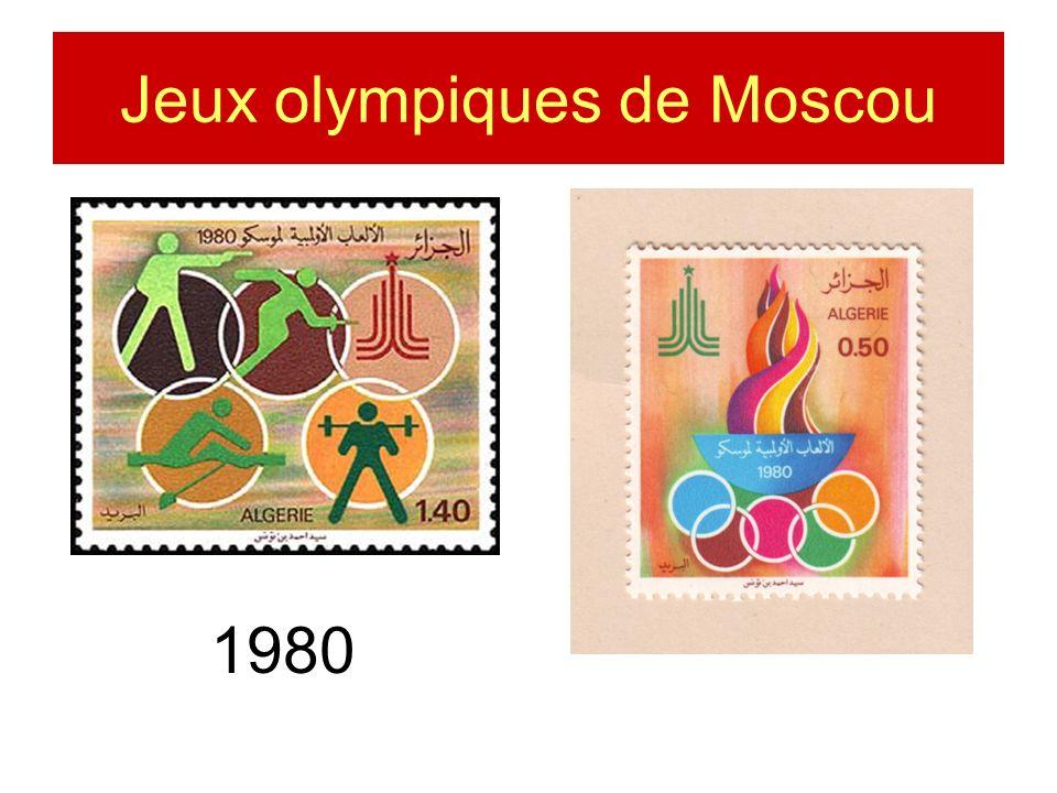 1980 Jeux olympiques de Moscou