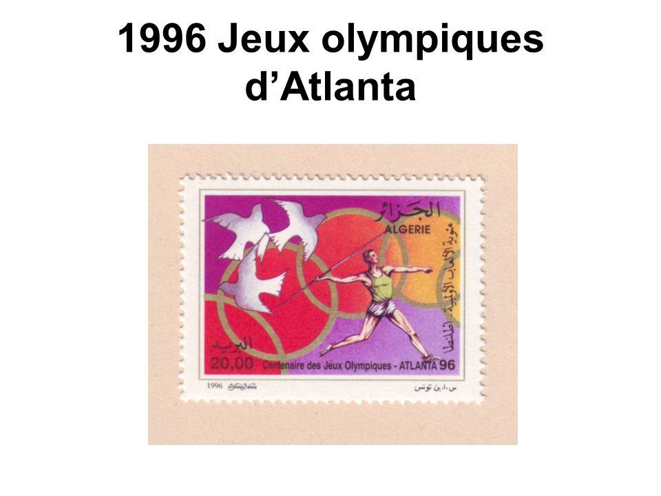 1996 Jeux olympiques dAtlanta