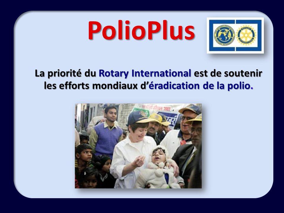 PolioPlus Depuis 20 ans Depuis 20 ans